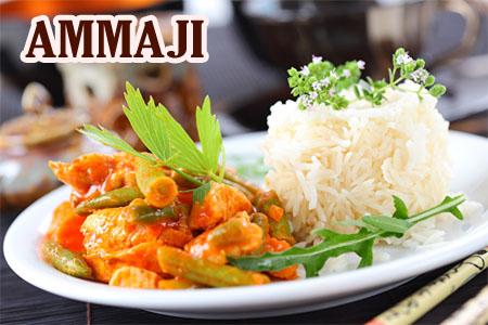 Ammaji indischer + chinesischer Lieferservice
